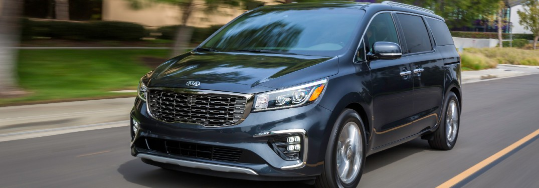 What are the Color Options of the 2021 Kia Sedona Minivan?