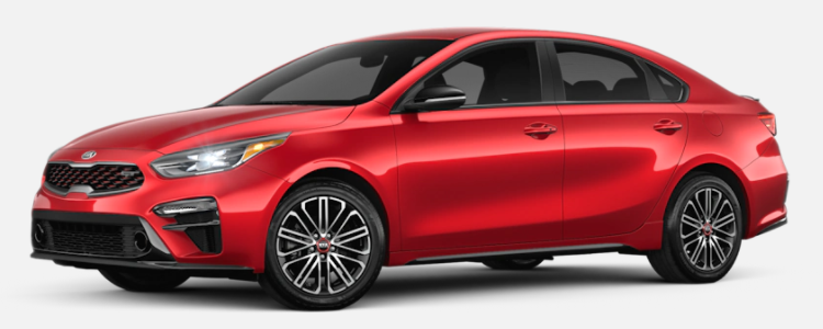 2021 Kia Forte Currant Red
