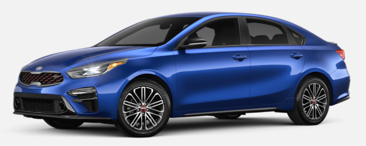 2021 Kia Forte Deep Sea Blue