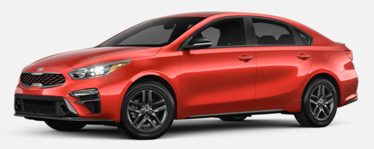 2021 Kia Forte Fire Orange