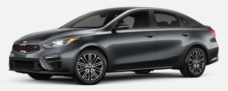 2021 Kia Forte Gravity Grey