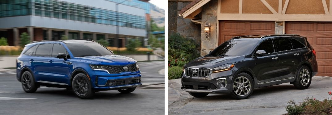What are the Differences Between the 2021 and 2020 Kia Sorento?