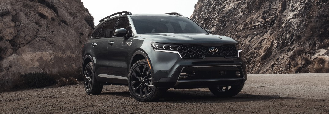 What are the Color Options of the 2021 Kia Sorento?