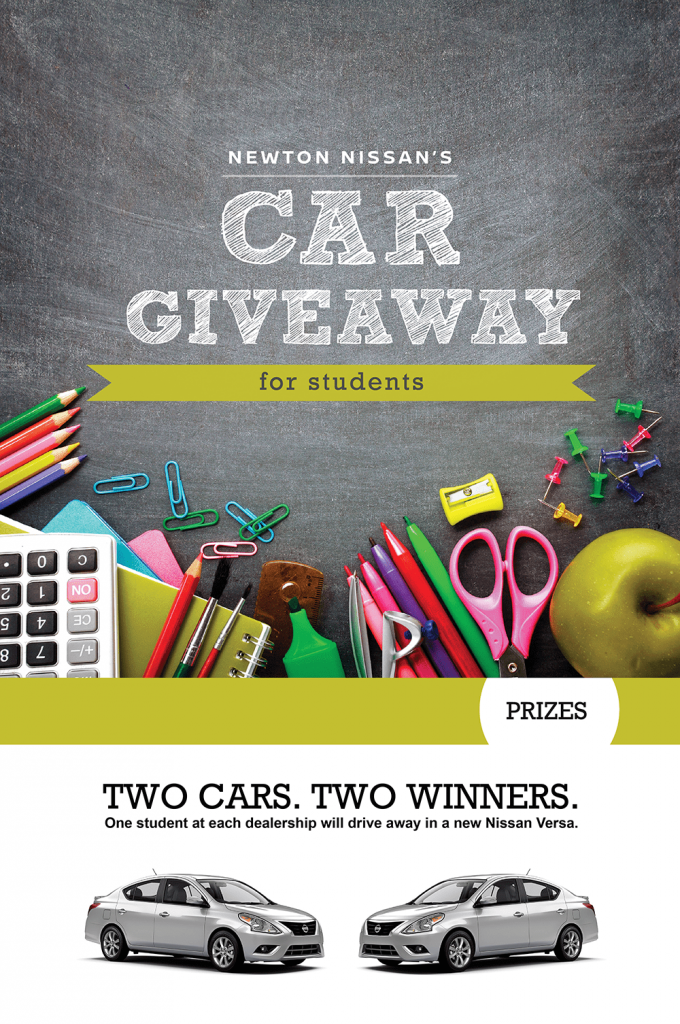 Our Car Giveaway: Good Grades, Free Car