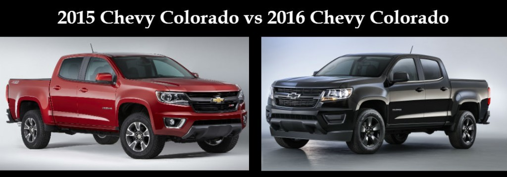 2016 chevy colorado vs 2015 chevy colorado. Black Bedroom Furniture Sets. Home Design Ideas