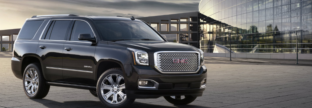 2016 gmc yukon named best large suv for families. Black Bedroom Furniture Sets. Home Design Ideas