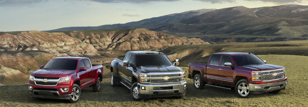 2016 Chevy Colorado Vs Silverado Vs Silverado Hd