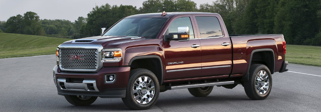 The Duramax Diesel Is Available On The 2017 Sierra Hd