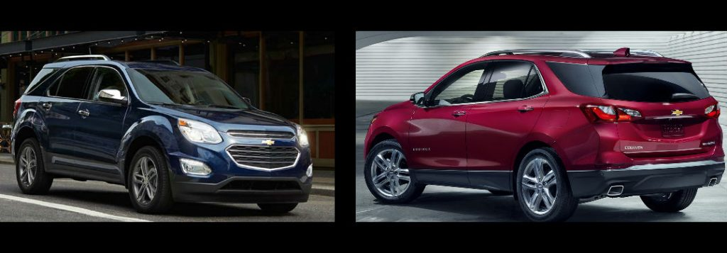2017 Chevy Equinox vs 2018 Chevy Equinox