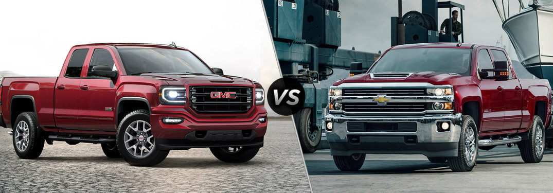 2017 gmc sierra 1500 vs 2017 chevy silverado 1500. Black Bedroom Furniture Sets. Home Design Ideas