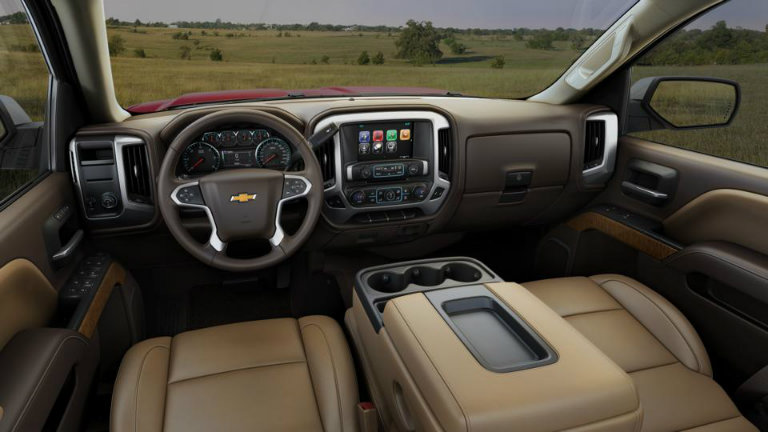 2017 Chevy Silverado with Cocoa/Dune with Leather ...