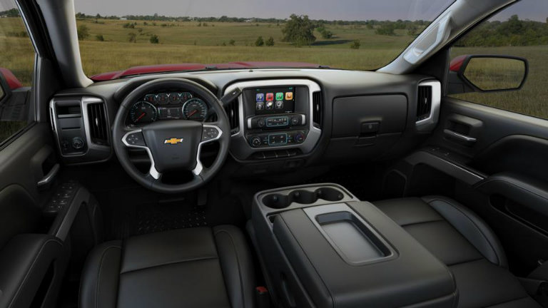2017 Chevy Silverado with Jet Black with Leather Appointed ...