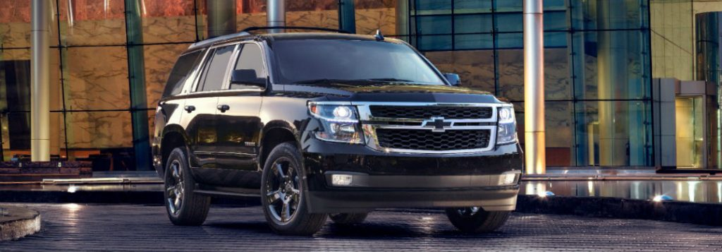 2017 Chevy Tahoe Colour Options