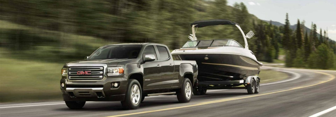 2017 gmc canyon towing capacity. Black Bedroom Furniture Sets. Home Design Ideas