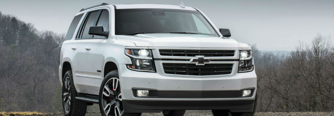 2018 Chevy Tahoe in white
