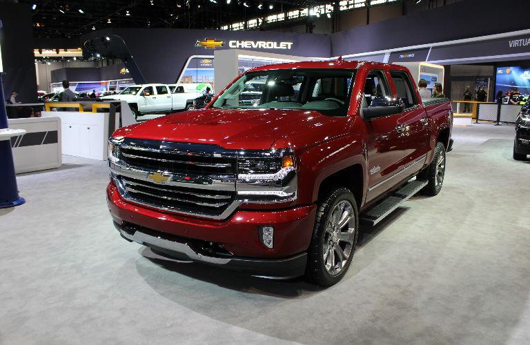 Chevy Silverado Special Edition Trucks at the Chicago Auto Show