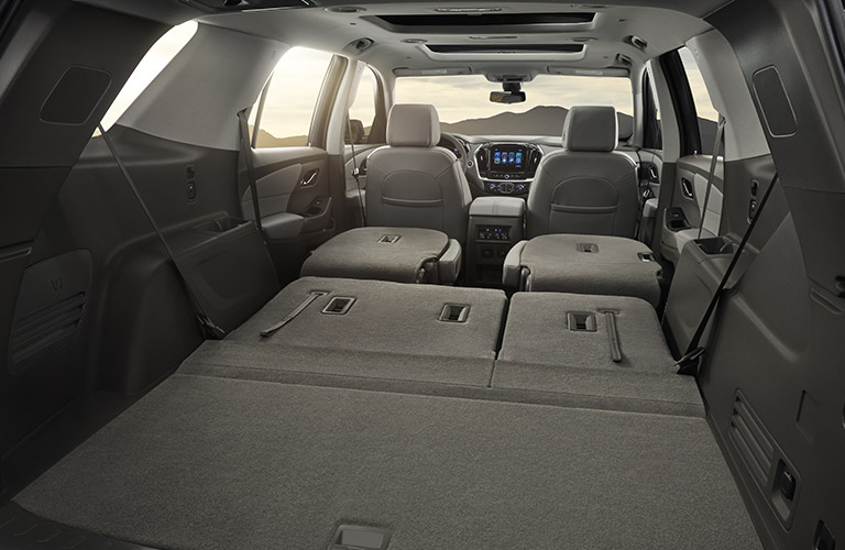 Perfect 2018 Chevy Traverse Cargo Space Gallery