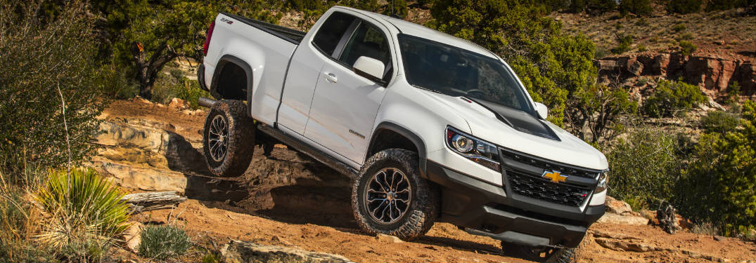 How Much Can The 2018 Chevy Colorado Zr2 Tow