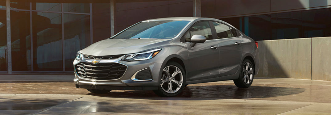 2019 Chevy Cruze in gray
