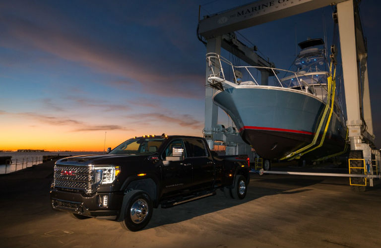 2020 Gmc Sierra Heavy Duty In Black O Craig Dunn