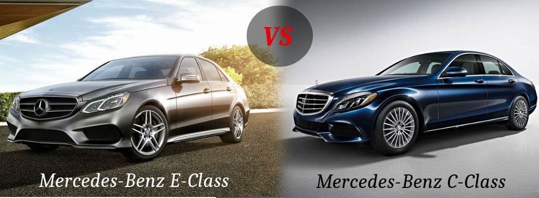 mercedes benz c class vs e class. Black Bedroom Furniture Sets. Home Design Ideas