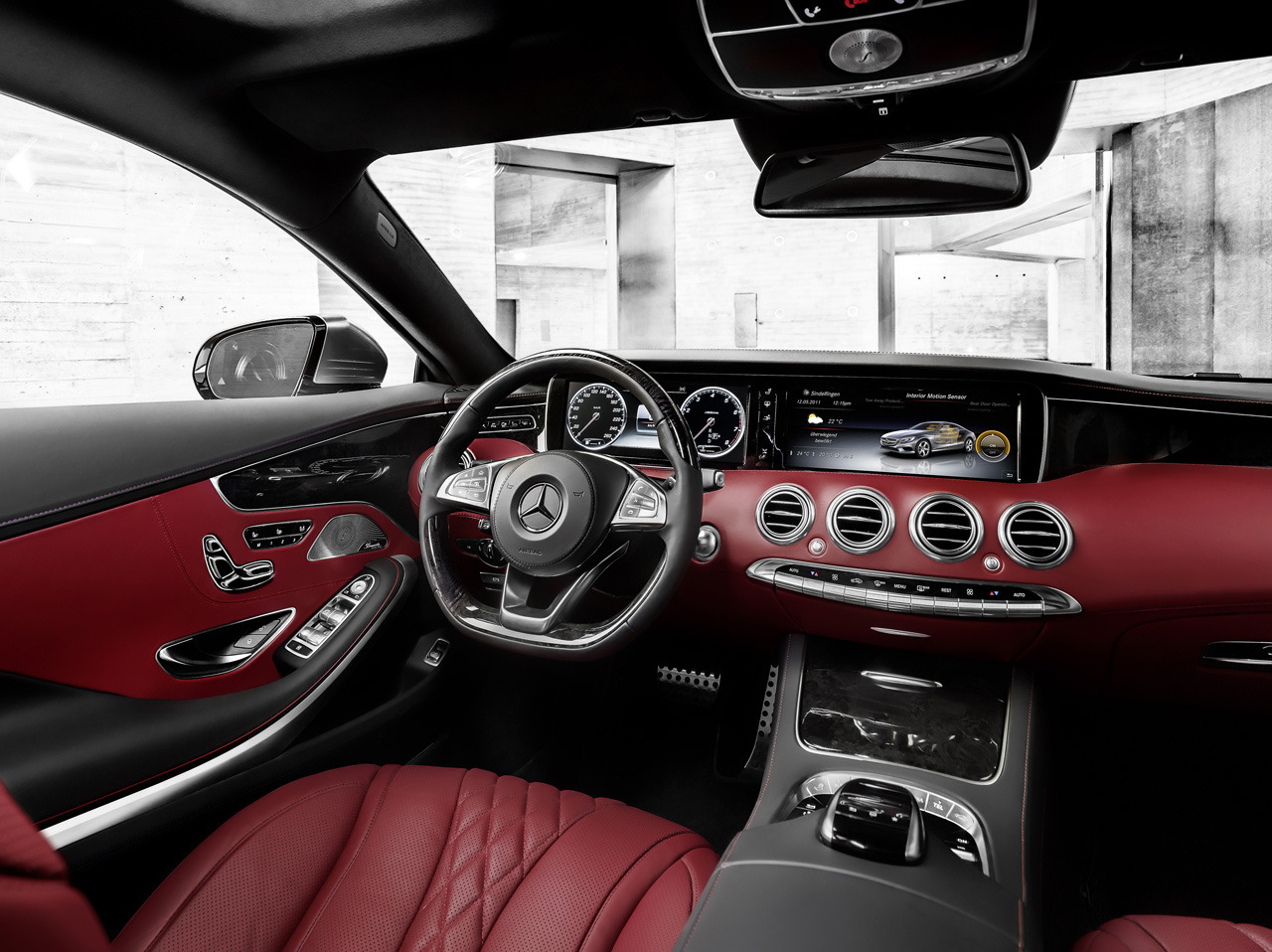 Mercedes Benz S Class Coupe Interior