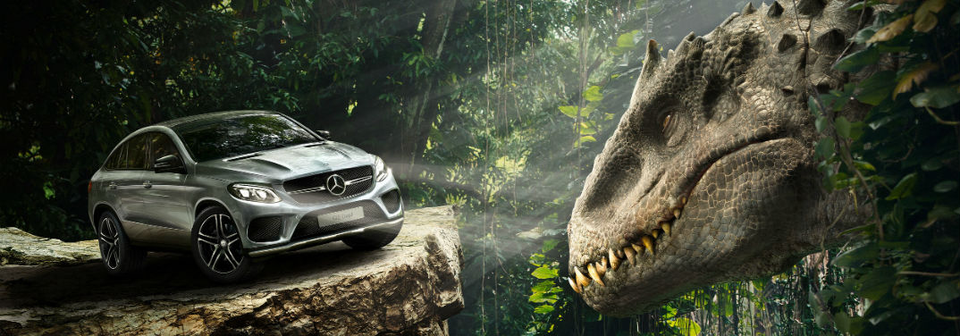 Jurassic World to showcase the 2016 Mercedes-Benz GLE in action