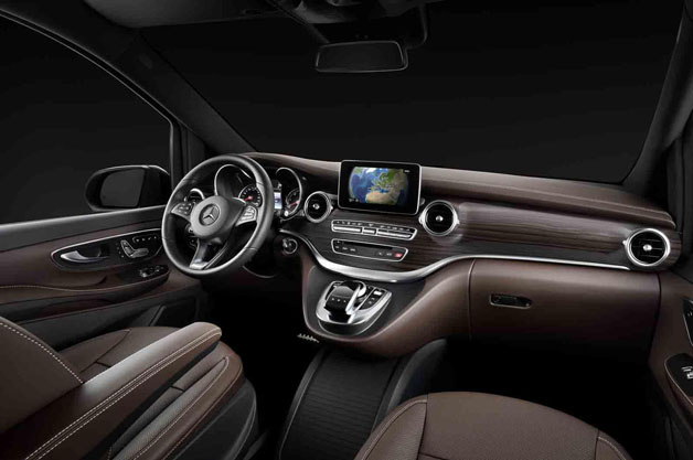 Mercedes Certified Pre Owned >> Mercedes-Benz Releases Images of Upcoming V-Class Interior ...