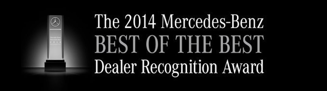 Loeber Motors is the Best of the Best Among Mercedes-Benz Dealers for 2014