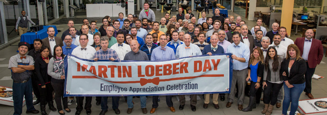 Employees Come Together To Celebrate Martin Loeber Day