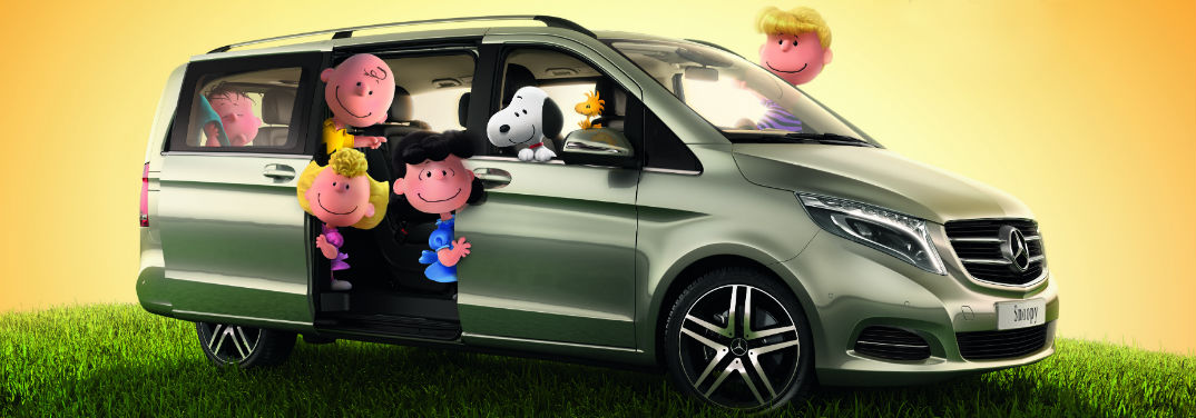 The Peanuts and Mercedes-Benz V-Class Commercial