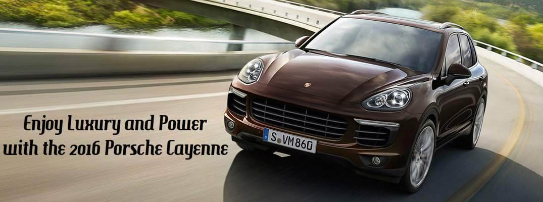 2016 Porsche Cayenne Towing Capacity