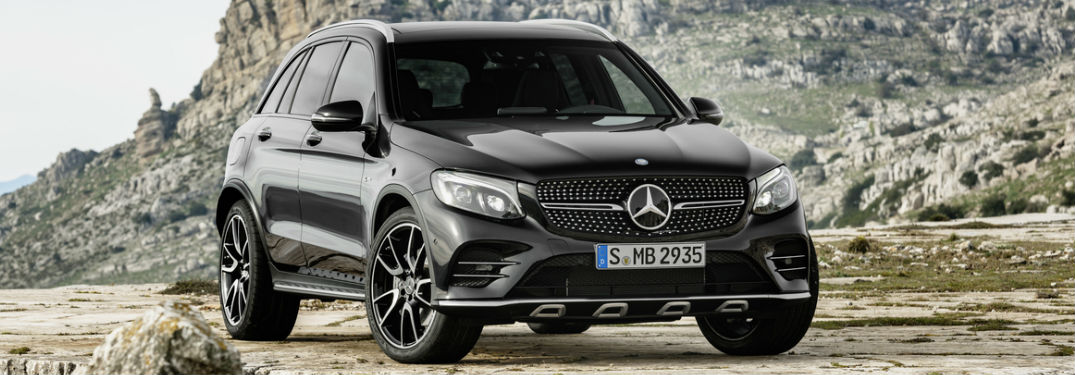 2017 Mercedes-AMG GLC43 Specs and Features at Loeber Motors-Chicago IL-Black 2017 Mercedes-AMG GLC43 Front Exterior