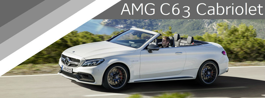2017 Mercedes-AMG C63 Cabriolet Performance Specs and Features