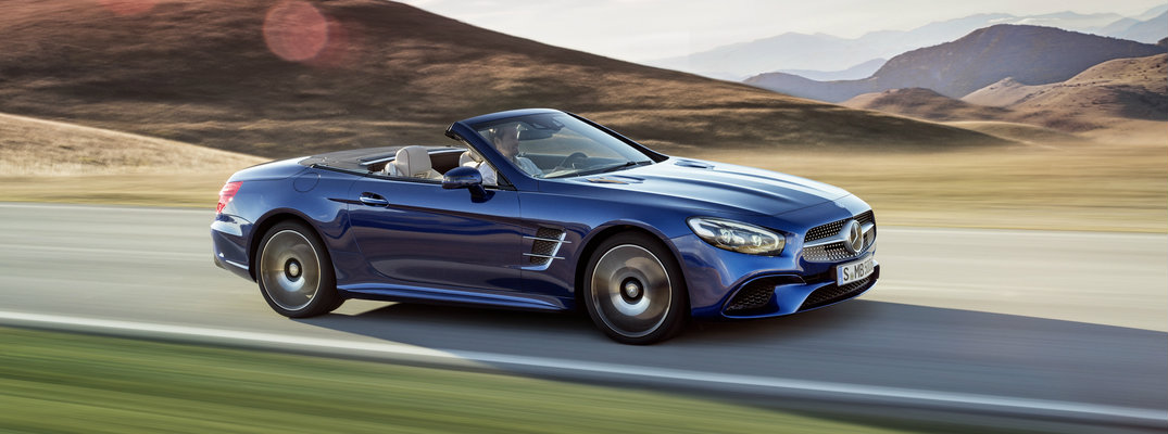 Differences in 2017 Mercedes-Benz SL Models