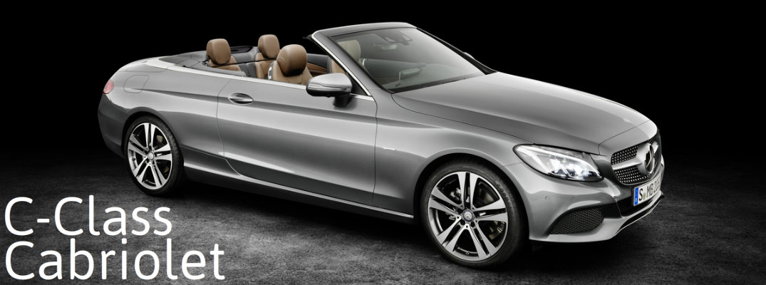 differences in 2017 mercedes-benz c-class cabriolet trims