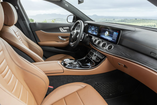 2017 Mercedes Benz E Class Wagon Premium Interior