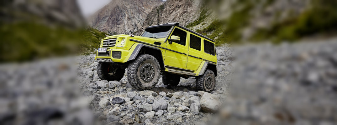 2017 Mercedes-Benz G550 4x4² Features, Technology and Release Date