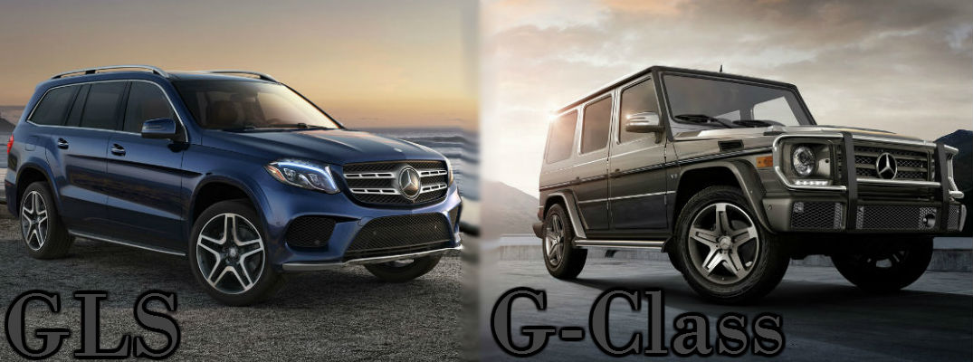 2017 mercedes benz gls vs 2016 mercedes benz g class for 2016 mercedes benz g class