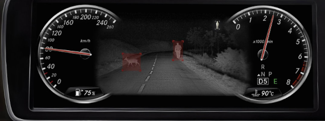How Does Mercedes-Benz Night View Assist Plus Work