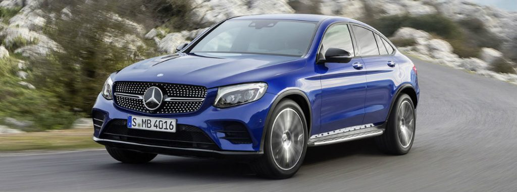 2017 mercedes benz glc coupe engine and technology for Mercedes benz service coupons 2017