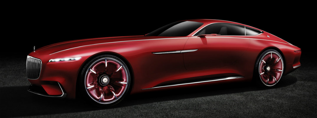 Vision Mercedes Maybach 6 Features And Technology