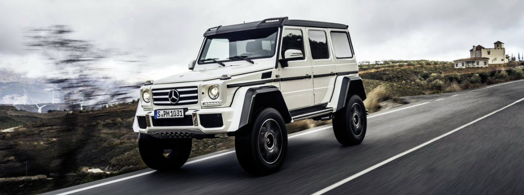 Impressive Lineup of 2017 G-Class Trims to Choose From