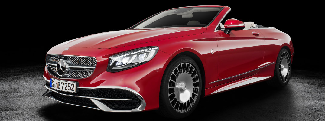 2017 Mercedes-Maybach S 650 Cabriolet Features and Release Date