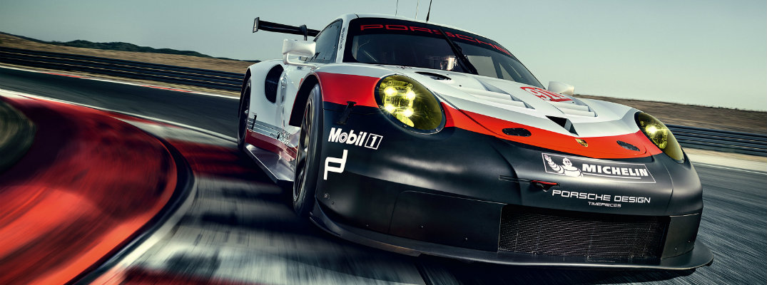 2017 Porsche 911 RSR Details and Changes