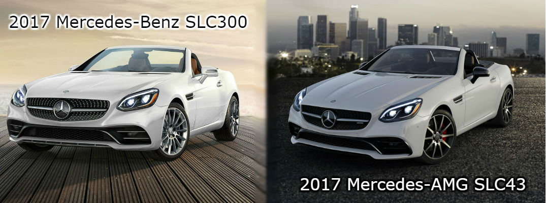 Which 2017 Mercedes-Benz SLC Model is Right for You?