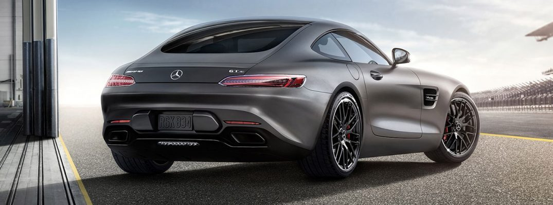 2017 Mercedes-Benz GT exterior rear
