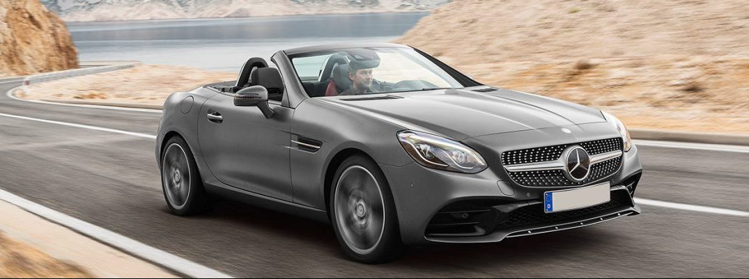 Mercedes-Benz reveals new SLC-Class roadster at the 2017 Chicago Auto Show