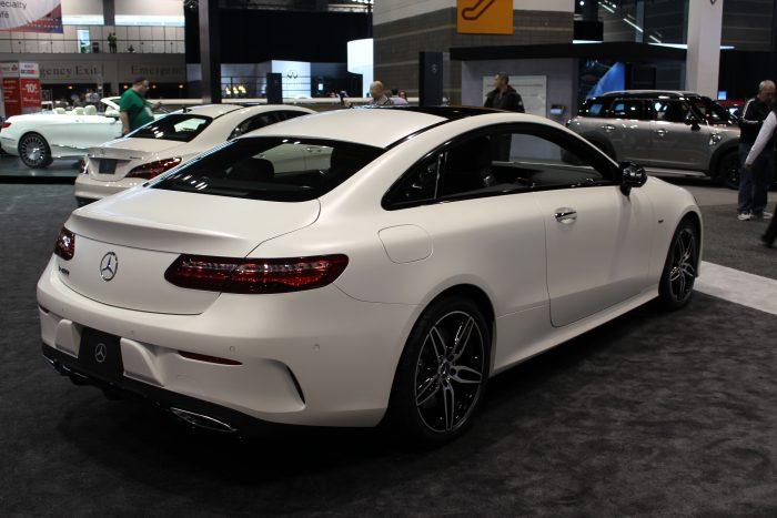 2018 Mercedes Benz E Class Coupe At The Chicago Auto Show Df