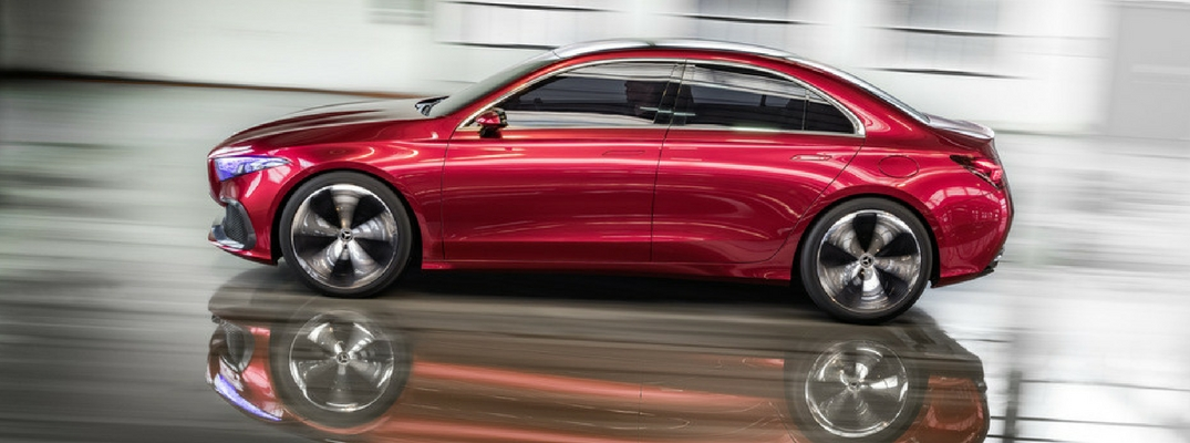 Mercedes-Benz shows off new Concept A Sedan